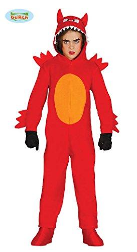 Teufel Kleinkind Jungen Kostüm (KINDERKOSTÜM - TEUFEL - Größe 95-100 cm ( 3-4 Jahre ), Kleinkinder Dämonen Devil)