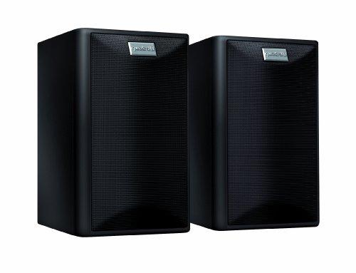 Quadral Maxi 330 W 2-Wege Regallautsprecher Paar (100/150 Watt) schwarz