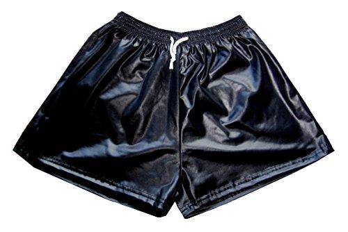G & T Originals Herren Wet-Look-Shorts, kurz Gr. XXL, Schwarz