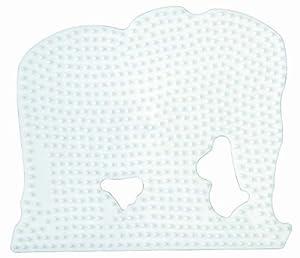 Hama Perlen 291  - Pared perforada elefante