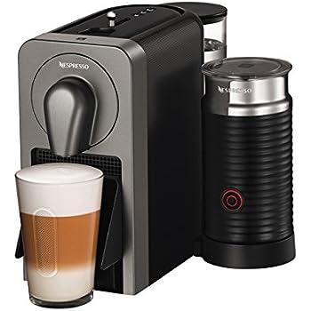 Nespresso XN411T Krups Prodigio & Milk-Cafetera (1260 W, 220-240 V, 19 Bares de presión, Bluetooth), Gris, 1700 W, 1 Cups