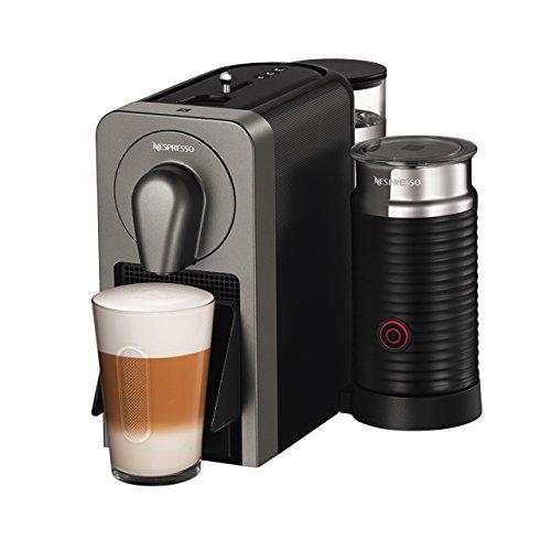 Krups Nespresso Prodigio und Milk XN411T Kaffeekapselmaschine (mit Bluetooth und Aeroccino,...