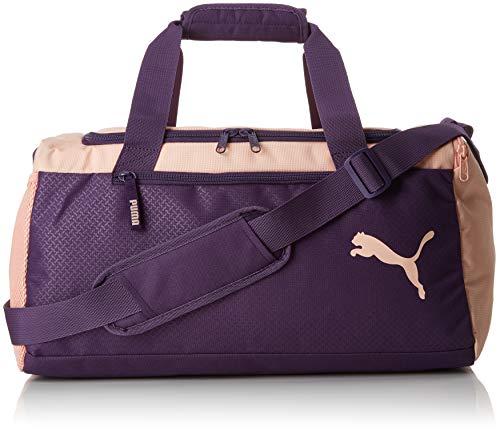 Puma Fundamentals Sports Bag S Bolsa Deporte, Unisex Adulto, Morado (Indigo/Peach Bud), OSFA