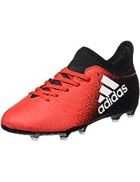 quality design 4b86f 1d0e6 adidas X 16.3 Fg J, Scarpe per Allenamento Calcio Unisex – Bambini, Rosso (