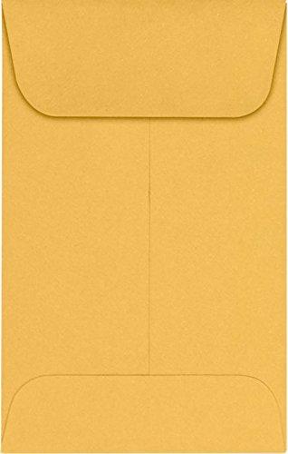 # 1Münze Umschlägen (21/4x 31/2in) (Maße X 88,9mm) 24 lb. Brown Kraft (Münze Umschläge 2x2)