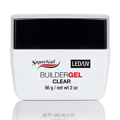 SUPERNAIL Builder Gel Uv/Led Klar - 56 g (Gel Builder Uv)