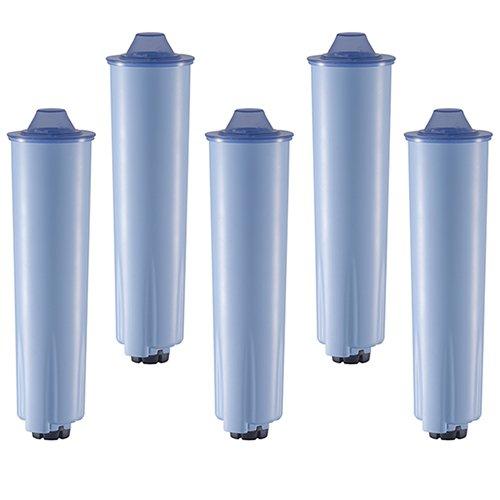 5 steckbare blaue Kartuschen passend für Jura® Kaffeemaschinen mit ENA Claris blue Patrone