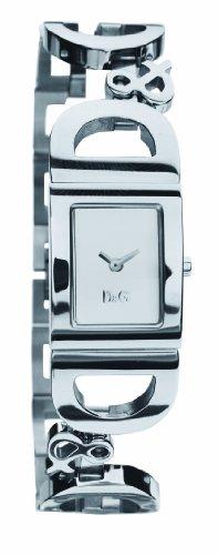 Dolce & Gabbana DW0494 Women's Analog Quartz Watch with Silver Stainless Steel Bracelet