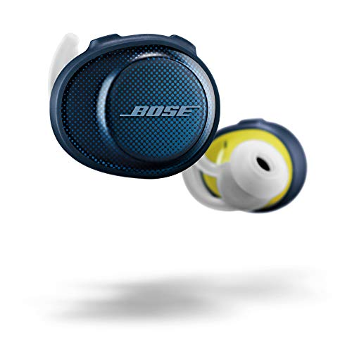 Bose SoundSport Free wireless headphones - Blau(Navy Blau/Citron))