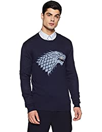 Game Of Thrones Men's Navy Color Sweater