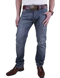 Replay Pantalons pour hommes Jeans Jennon Coupe Régulière Bleus