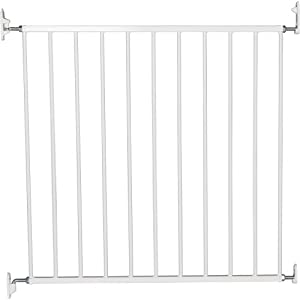 BabyDan No Trip Screw Mounted Safety Gate, White   6