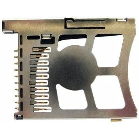 BisLinks® PSP lettore Slot per scheda di memoria per Sony PSP 100020003000fissa di ricambio Parte Interna