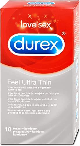 10 Kondome DUREX FEEL ULTRA THIN (GEFÜHLSECHT ULTRA) 20{5f2648c16fff5889cfb1f6f2a16dfa16d0b58652ddbd7f3f798272507b6d0ee5} dünner!