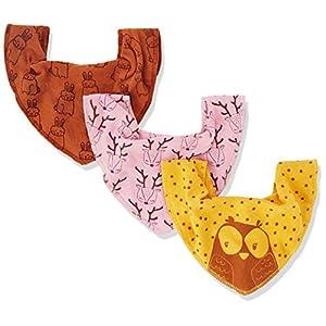 Pippi Pañuelo Juego de 3Baby Cuello paños Triángulo paños estrellas 16