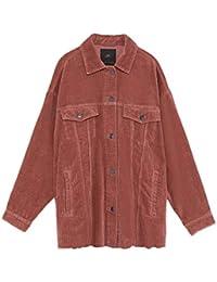 ZARA Cord Blazer Jacke mit Schlitz mit Schlitz XL