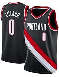 CRBsports Damian Lillard, Baloncesto Jersey, Trail Blazers, Tejido Bordado, Swag, Ropa