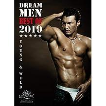 Dream Men · Premium Calendario 2019· DIN A3· Hombres · Man · Men · Hero · Shades Of Sex · Set de regalo con 1tarjeta de felicitación y 1Tarjeta de Navidad (· Edition Alma mágica