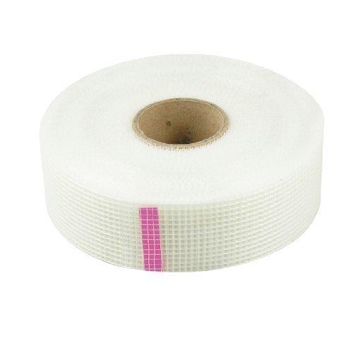sourcingmap® 4.83 cm breit, selbstklebend, Weiß, Fiberglas, Geflecht Band Roller