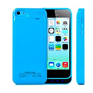 Vanda® Extern Coque Batterie (4200mAh) pour Apple iPhone 5C/5/iPhone 5S(bleu): Amazon.fr: High-tech
