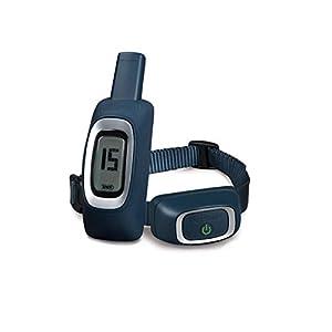 PetSafe - Collier de Dressage pour Chien 100 m, Rechargeable, Etanche, Ton/Vibration, 15 niveaux de Stimulation électrostatique