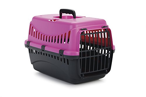 Beeztees-Transport-Box-Gypsy-45-x-26-x-29-cm-Pink-AnthraciteP