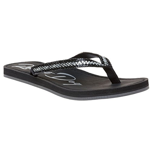 Rocket Dog Panama Diamond Damen Sandalen Schwarz Schwarz