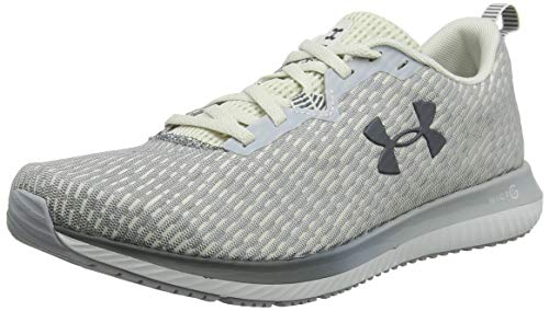 Under Armour Micro G Blur 2, Scarpe Running Uomo, Bianco (Summit White/MOD Pitch Gray 100), 44/45 EU