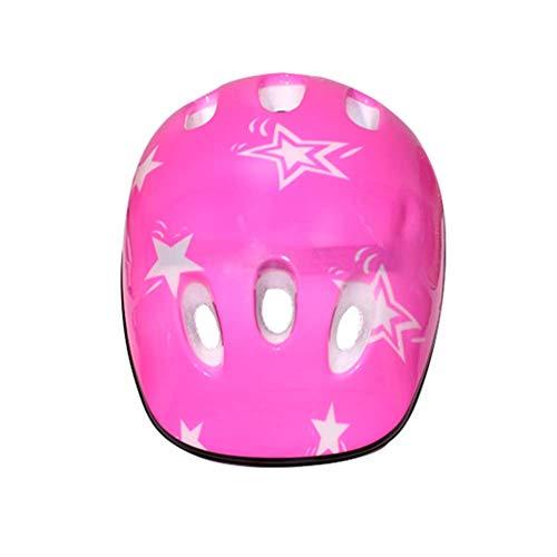 Matedepreso Außen Kinder Fahrradhelm Jungen Mädchen Radsport Sicherheit Skating Roller Helm Neu (Helmetpink) - Rosa, Helmet