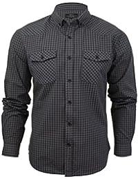 Smith and Jones - Camisa casual - Cuadrados - con botones - Manga Larga - para hombre