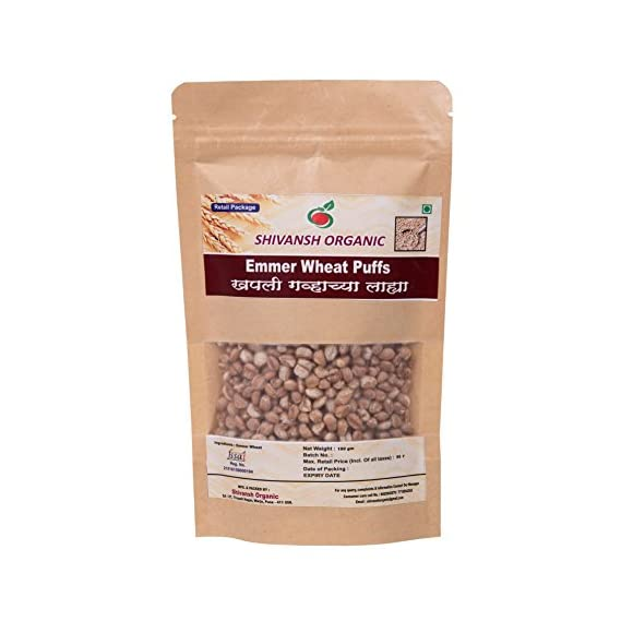 Emmer Wheat | Khapali Wheat Puffs (Pack of 2)