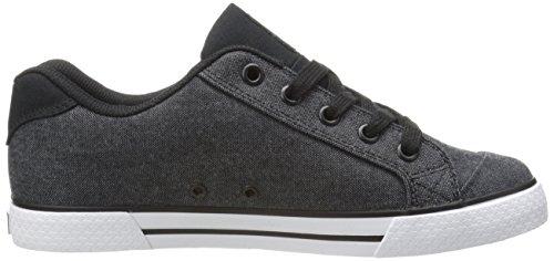 DC Shoes Chelsea Se, Baskets mode femme Noir/bleu