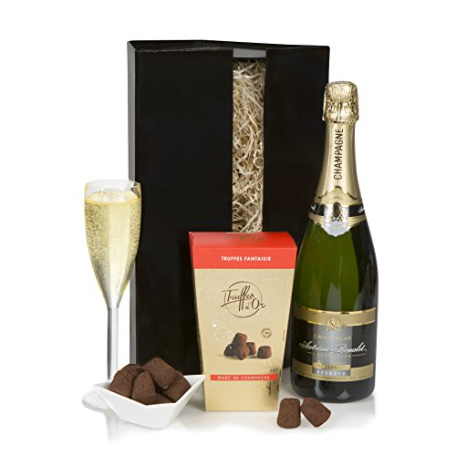 Champagne & Truffles Xmas Gift Set - Champagne Gift Hamper - Christmas & Special Occasions
