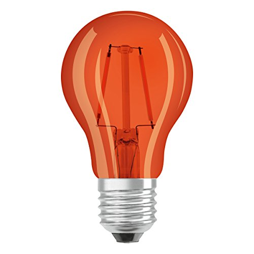 Osram - 4058075816046 - Lot de 6 Ampoules LED - Couleur Orange - 4W Equivalent 15W - Culot E27