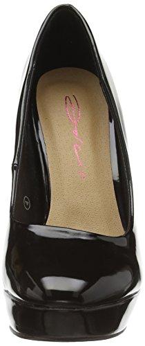 Dolcis Dolcis Barcelona, Chaussures à talons hauts femme Noir - Black (Black Patent)