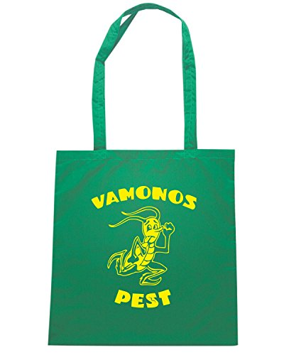 T-Shirtshock - Borsa Shopping FUN0219 09 05 2012 Vamonos Pest T SHIRT det Verde