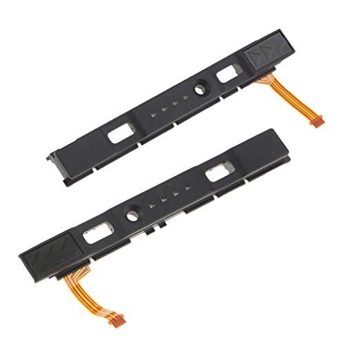 perfk 1 Paar Externer Slider Assembly & Flex Cable Ersatzteil Für Nintendo Switch Controller Joy-Con ( Links und Rechts ) - Flex Assembly