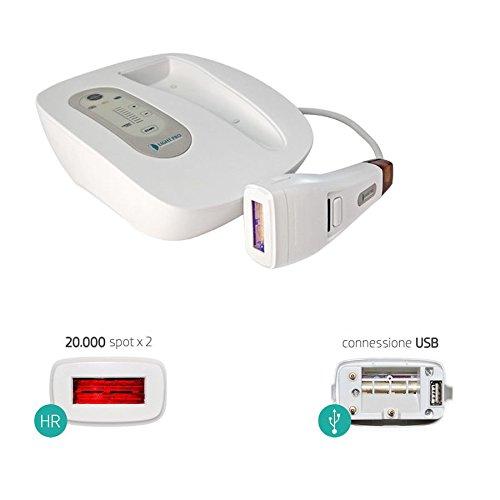 D Light Pro - Epilatore e fotoringiovanimento a luce pulsata con lampada HR
