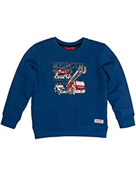 SALT AND PEPPER Jungen Sweatshirt Sweat Fire Hubschrauber