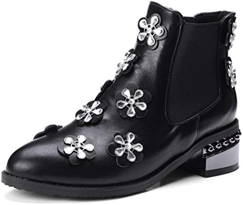 Sandalette-DEDE Scarpe da Donna Stivali Fiore di Stivali, Europea e Americana Stivali e Moda Diamante Gli Stivali... | Attraente e durevole  | Uomini/Donne Scarpa