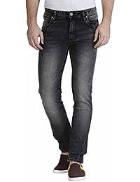 Raa Jeans Men's Slim fit Black jeans