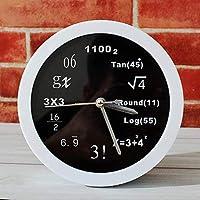 Yuany MGS Alarm Clock @ Polytechnic Mathematics Math Equations Office Alarm Clock Office Clock Alarm Clock Creative Home Decorative Fashion Clock Mute Clocks