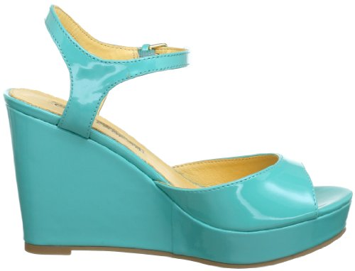 Buffalo London 143033, Sandales femme Turquoise (Mint 01)