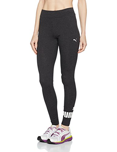 Puma Ess No.1 Leggings W Pantalons Femme, Dark Gray Heather, FR : M (Taille Fabricant : M)