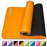 arteesol Yogamatte, 183cm x 61cm x 6mm Rutschfeste Große Gymnastikmatte,...