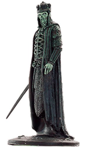Lord of the Rings Señor de los Anillos Figurine Collection Nº 26 King of The Dead 1