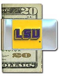 Siskiyou NCAA Clip de acero para dinero, Unisex, CMCL43, Louisiana State Fightin Tigers