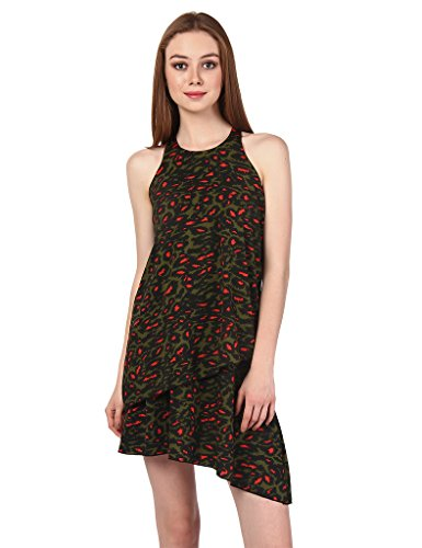 Oxolloxo Women Printed Dress  available at amazon for Rs.359