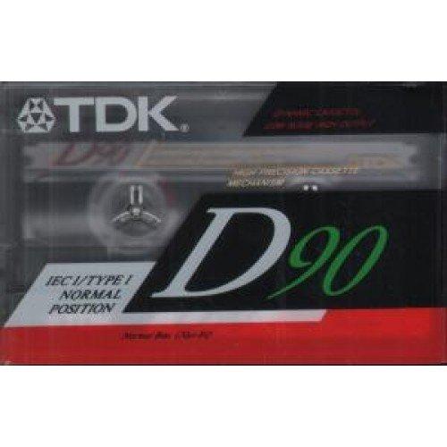 TDK D90 de cinta de casette