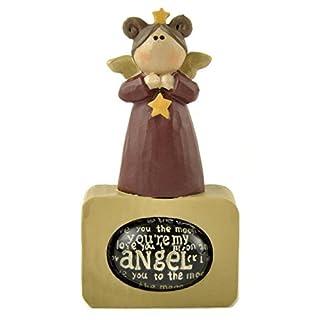 Angel w/Star on 'Angel' Bubble Block